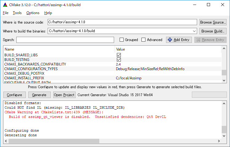 Build and install from source code (Windows version) — Choreonoid